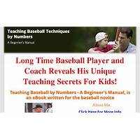 Teach baseball by numbers a beginners manual by richard duncan compare