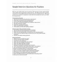 Teacher interview tips coupon