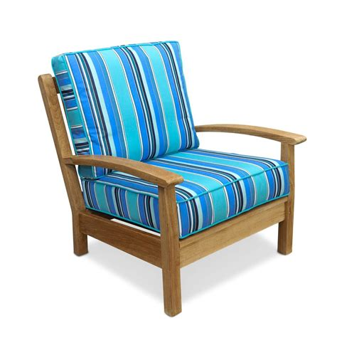 Teak Patio Chair with Cushions