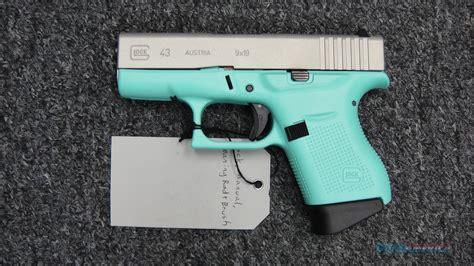 Teal Glock 43