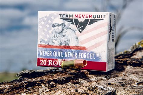 Team Never Quit Ammo Review