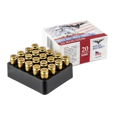 Team Never Quit Frangible 125gr Hp Cheap Ammo For Sale