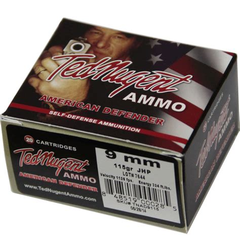 Ted Nugent Thermos Shotgun Shell