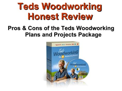 Teds woodworking package Image