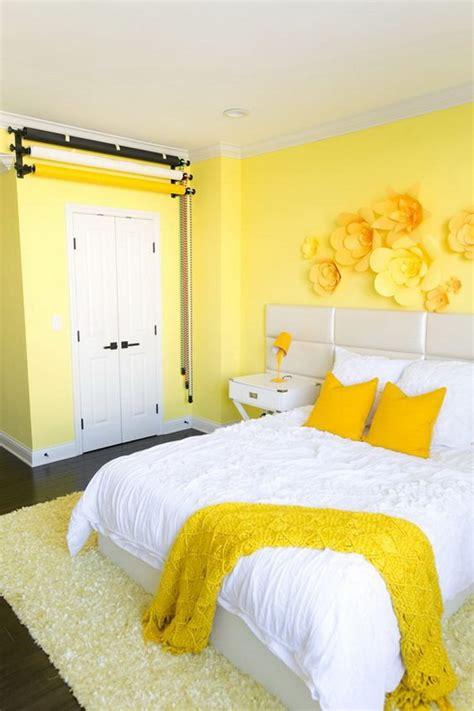 Teen Bedroom Ideas Yellow