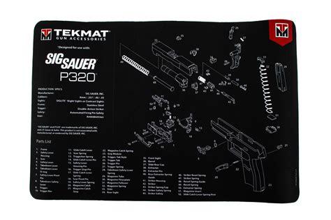 Tekmat P320 Gun Cleaning Mat