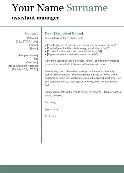 Template Covering Letter For Tender Submission | Cover ...
