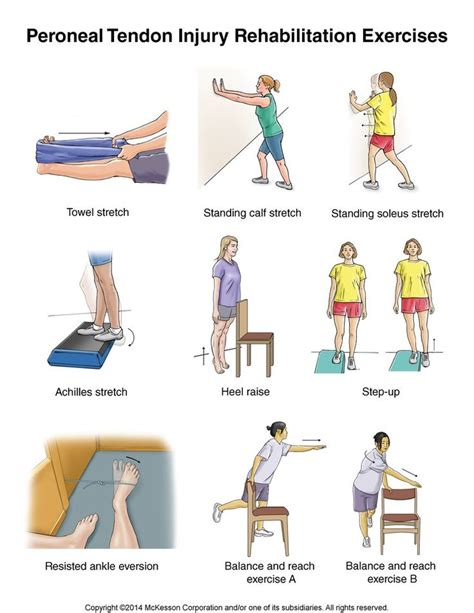 tendonitis ankle exercises