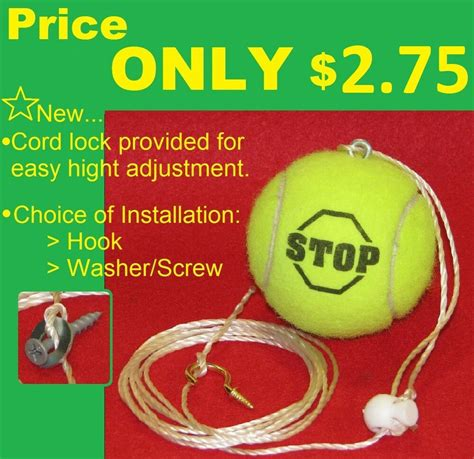Tennis Ball Garage Stop Make Your Own Beautiful  HD Wallpapers, Images Over 1000+ [ralydesign.ml]