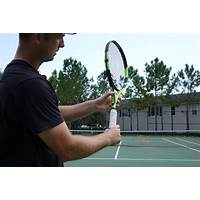 Tennis serve video instructional course technique