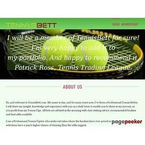 Discount tennisbett daily tennis betting tips
