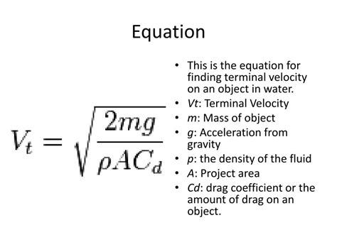 Terminal Velocity Equation Graph and Velocity Download Free Graph and Velocity [gmss941.online]