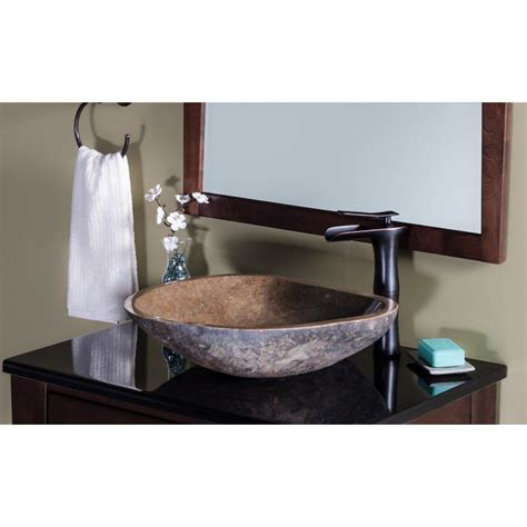 Terra Stone Specialty Vessel Bathroom Sink