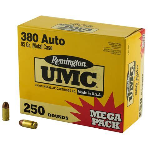 Tests Remington 380 Fmj Ammo