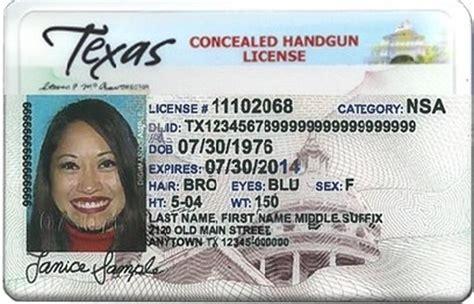 Texas Concealed Handgun License Address Change Online