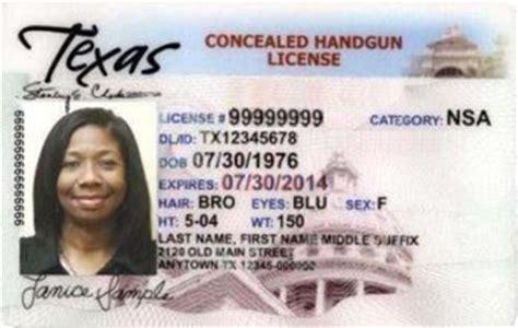 Texas Concealed Handgun Registration