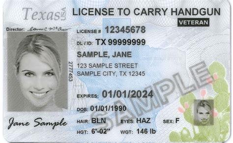 Texas License To Carry Handgun Change Of Address