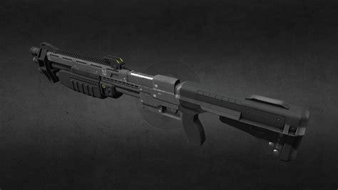 Textured Halo Shotgun Model