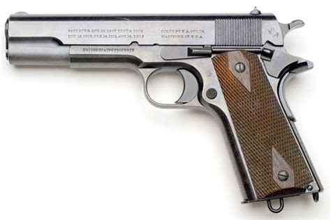 The 1911 Browning Colt Pistol A Short History