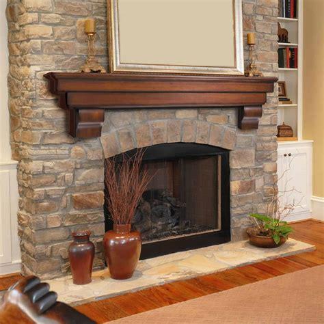 The Auburn Fireplace Shelf Mantel