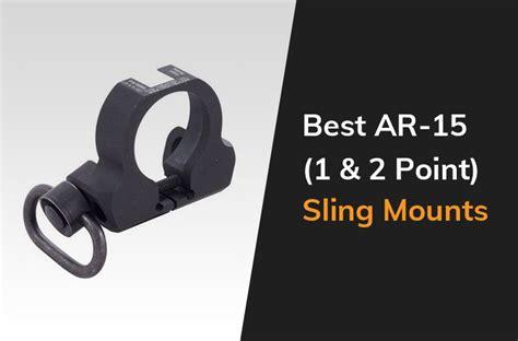 The Best Sling Mounts For An AR-15 Rifle - Gun Mann