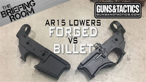 The Briefing Room Ar15 Lower Receivers Forged Vs Billet And 1911 Lug Fitting Kit 1911 Lug Cutter Brownells No