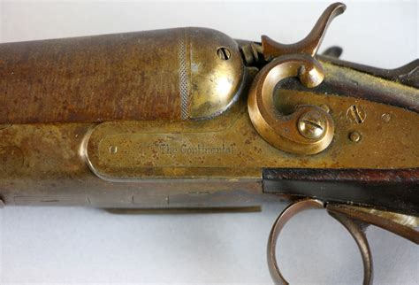 The Continental Double Barrel Shotgun