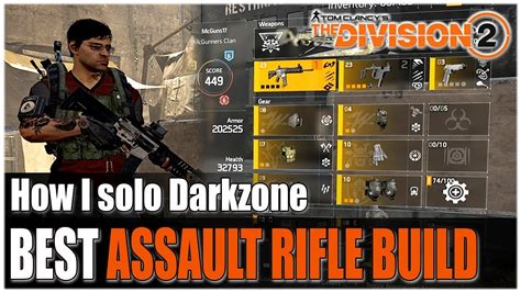 The Division 2 Assault Rifle Pvp Build