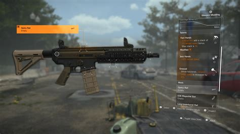 The Division Assault Rifle