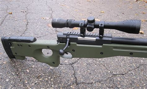 The Division Bolt Action Sniper Rifle