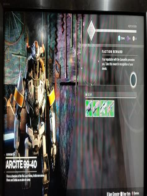 The Farm Gunsmith Faction Reward Glitch