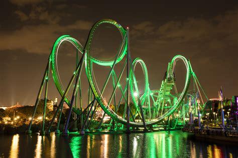 The Incredible Hulk Coaster - Wikipedia