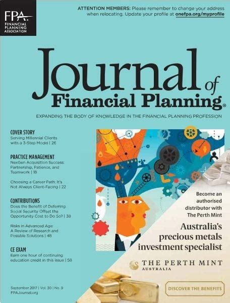 The Journal Of Financial Planning