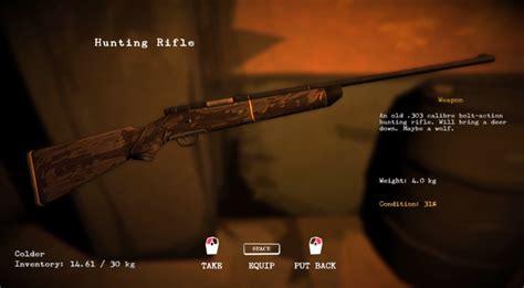 The Long Dark Rifle Sway