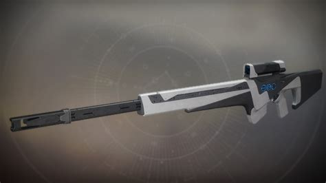 The Long Walk Destiny 2 Sniper Rifle