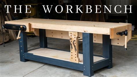 the perfect woodworking workbench how to build the ultimate hybrid workholding bench Image
