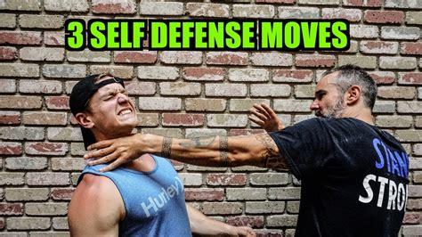 The Trident Move Self Defense