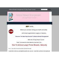 What is the best the 10 best kept secrets to natural breast enlargement?