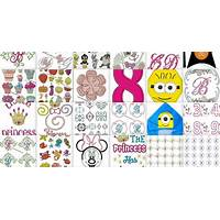 The 1300 embroidery hanan collection version 1 machine embroidery methods