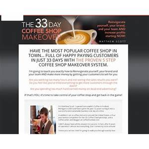 The 33 day coffee shop makeover guide