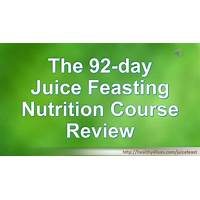 The 92 day juice feasting nutrition course guides