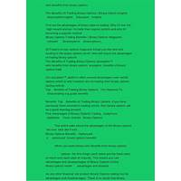 Buy the binary options advantage