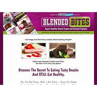 The blended bites healthy snack and dessert recipe collection is it real?