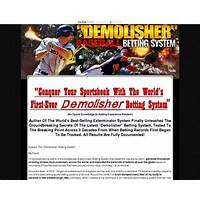 The demolisher sports betting system by author of the #1 system tips