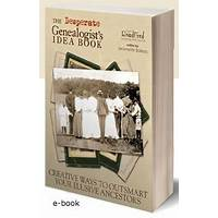Coupon for the desperate genealogists idea book