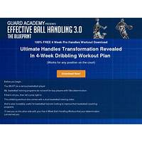 The effective ball handling program (3rd year at the top review