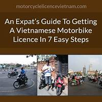 The expats guide to getting a vietnamese motorcycle licence free trial