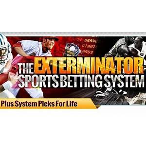 The exterminator sports betting system promotional code