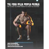 The four week power primer: unleash the inner athlete instruction