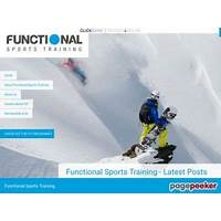 The functional sports training specific program for ski & snowboard scam?